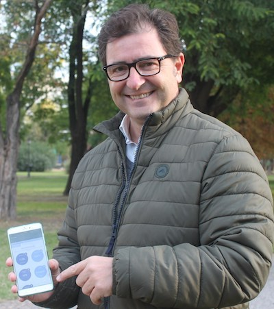 José Luis Bustos, CEO of BrioAgro Tech.