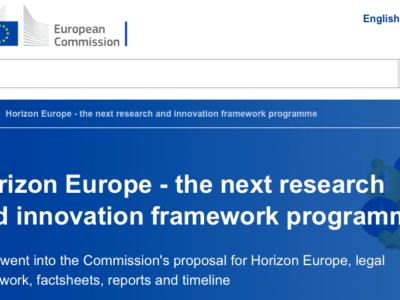 La CE presenta su propuesta para Horizonte Europa, el nuevo Programa Marco
