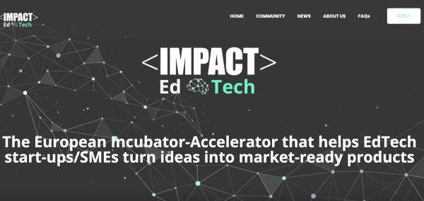 IMPACT EdTech financia con seis millones de euros a startups y pymes europeas que solucionen retos educativos